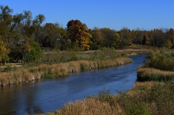 The Bark River was carved in Wisconsin&#39;s Ice Age, about 13,000 years ago, when glaciers covered much of the state.