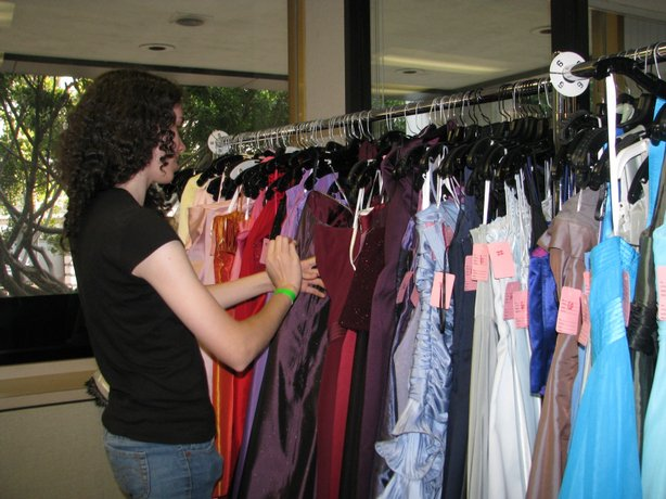 Teenage girls have a wide variety of prom dresses from which to choose.