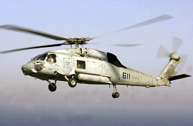 The Sikorsky SH-60/MH-60 Seahawk is a twin turboshaft engine, multi-mission United States Navy helicopter. 