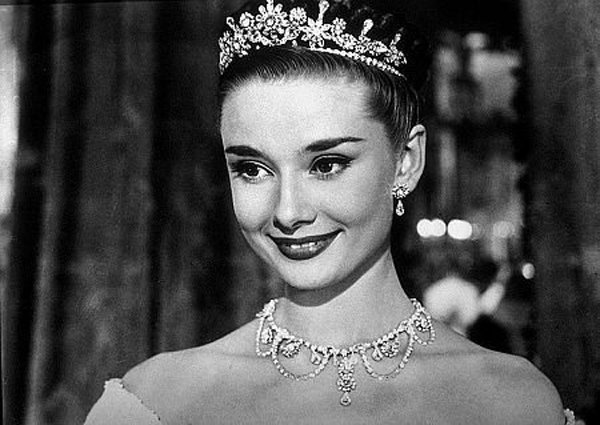 Audrey Hepburn looking regal in Roman Holiday, one of the classics kicking off the Topps Presents Cinema Under the Stars.