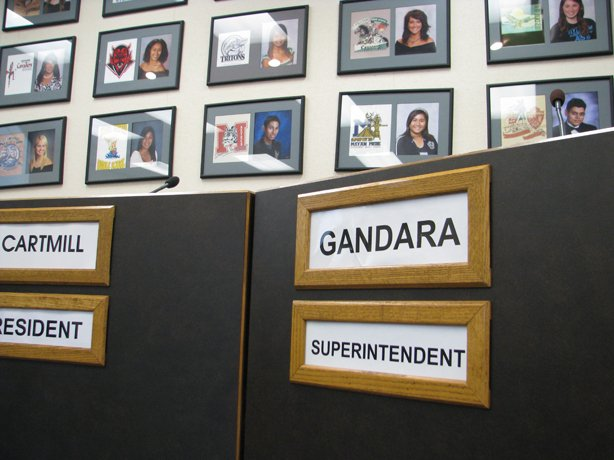 SUHSD Superintendent Jesus Gandara has been on the job for about three years.