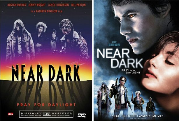 "The packaging for the Anchor Bay two-disc DVD of ""Near Dark"" and the new Lionsgate single disc re-release. Which to you prefer?"