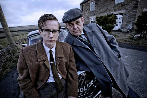 A 13-year-old girl vanishes from an English village; the mystery deepens 40 years later when a journalist arrives to make a film about it. What she finds shatters the lives of all involved. Pictured (l-r): DI George Bennett (Lee Ingleby) and Old George Bennett (Philip Jackson).
