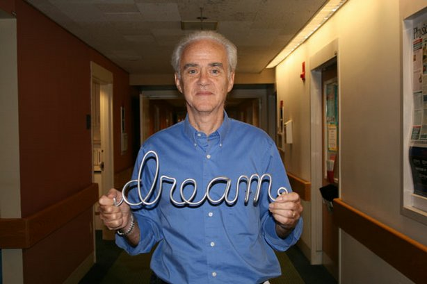 """NOVA"" joins the leading dream researchers and witnesses the extraordinary experiments they use to investigate the world of sleep. Pictured: Prof. Robert (Bob) Stickgold of Harvard Medical School, who researches how dreams can improve learning."