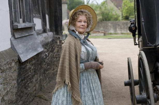 Dame Judi Dench as Miss Matty Jenkyns. A sleepy 1840s English village comes to life with gossip, parties, romances, sudden death, bankruptcy,and the drama of an encroaching railway three-part series, based on the beloved Victorian-era writings of Elizabeth Gaskell.