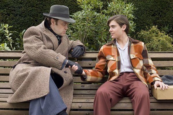 "Christian McKay and Zac Efron in ""Me and Orson Welles."""