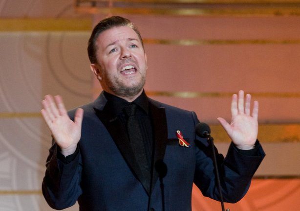 Ricky Gervais played host for the 67th Annual Golden Globe Awards.