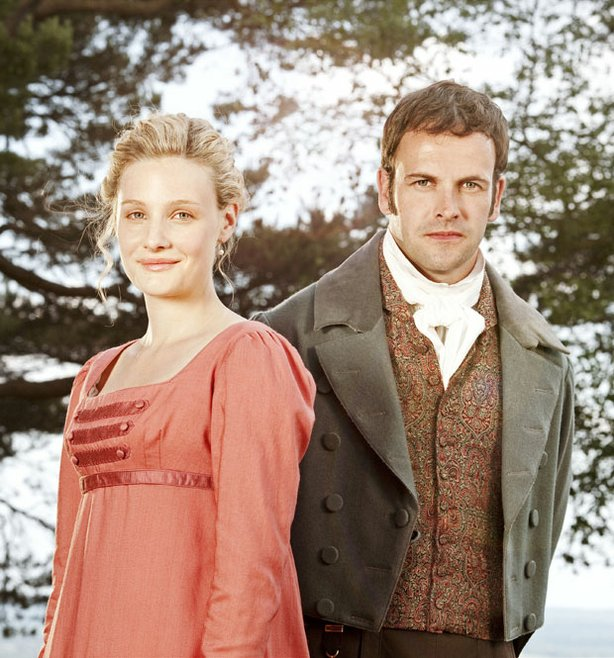 "A lavish new adaptation of one of Jane Austen's most popular novels stars Romola Garai (left) as the ""handsome, clever and rich"" heroine and Jonny Lee Miller as her suitor, Mr. Knightley."