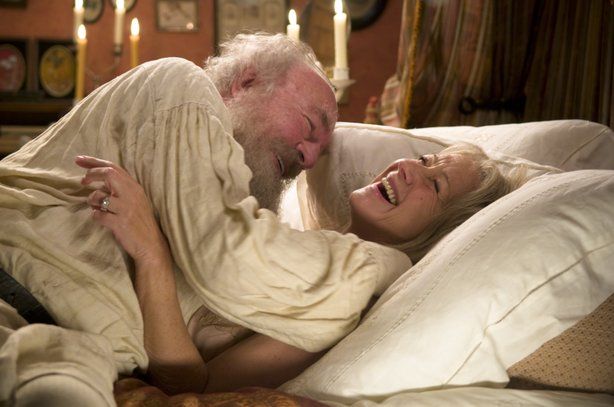 Oscar nominees Christopher Plummer and Helen Mirren in &quot;The Last Station&quot;