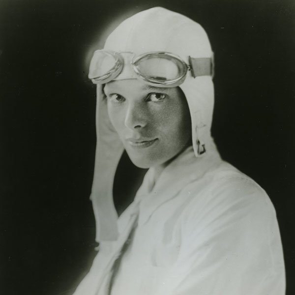 "Amelia Earhart, the first woman to fly solo across the Atlantic. But on July 2, 1937, ""The First Lady of the Air"" became a legend when she mysteriously disappeared over the Pacific."
