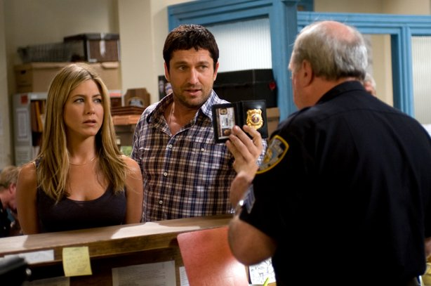 "Jennifer Aniston and Gerard Butler in ""The Bounty Hunter"""