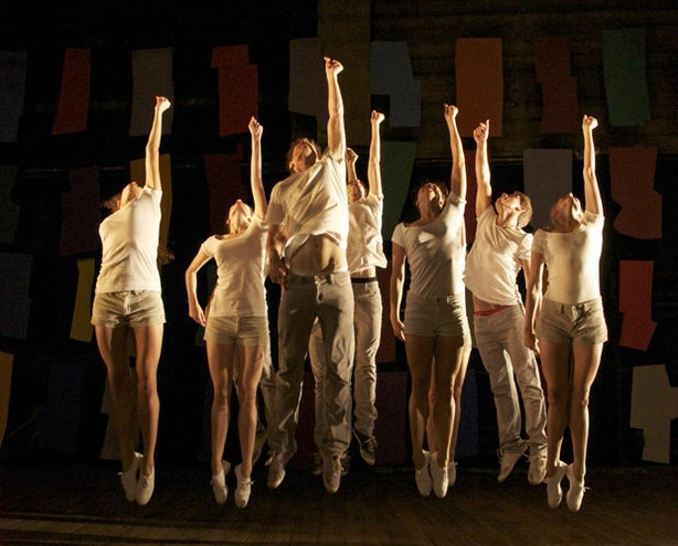 "A group of dancers perform in this new production of choreographer Jerome Robbins' 1958 ""ballet in sneakers."" ""NY Export: Opus Jazz,"" was filmed in the five boroughs of New York City."