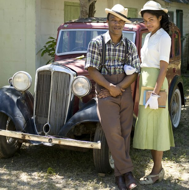 Adapted from Andrea Levy's best-selling, award-winning novel, this is the moving saga of two couples — one Jamaican, one English — whose lives intertwine in both friendship and tragic misunderstanding in post-World-War-II Britain. David Oyelowo (left) and Naomie Harris (right) star as the Jamaican immigrants.