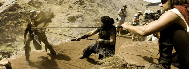 "On the set with Jake Gyllenhaal as he does battle -- repeatedly -- in ""Prince of Persia: The Sands of Time"""