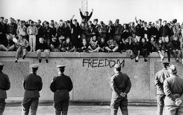 This documentary looks deep inside the revolution that swept across Europe two decades ago — with the November 1989 opening of the Berlin Wall — to understand how this remarkable event helped end the Cold War without a shot being fired. Pictured: Berlin, November 10, 1989.