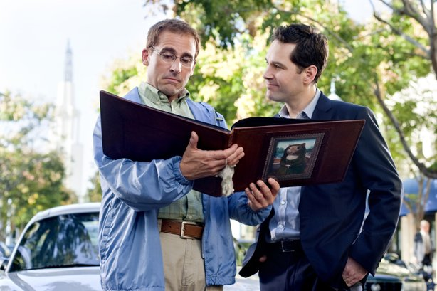 Steve Carell and Paul Rudd star in &quot;Dinner for Schmucks,&quot; the American remake of the French comedy &quot;The Dinner Game.&quot;