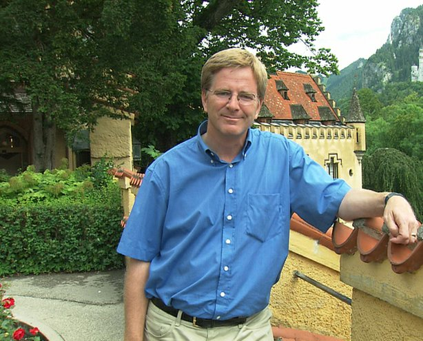 Host Rick Steves at Hohenschwangau castle, Germany