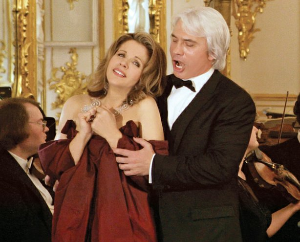 "America's favorite soprano, Renée Fleming, and Russia's greatest living baritone, Dmitri Hvorostovsky, travel to St. Petersburg—the ""Venice of the North""—where they perform great opera scenes in the magnificent palaces of the Czars in the former capital of Imperial Russia."