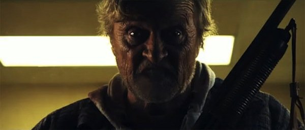 "Rutger Hauer stars in ""Hobo with a Shotgun"""