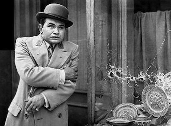 "Edward G. Robinson stars in ""Little Caesar"""