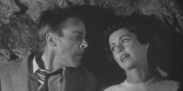 "Kevin McCarthy and Dana Wynter is ""The Invasion of the Body Snatchers."" (1956)"