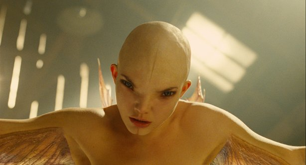 "The creature Dren in ""Splice."""