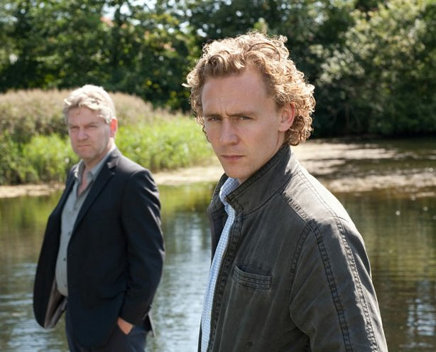 Kenneth Branagh (left) as Kurt Wallander and Tom Hiddleston as Martinsson in &quot;Masterpiece Mystery! Wallander, Series II: The Fifth Woman.&quot;