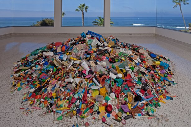 Installation view, Selections from The Beach Collection, 1975present, in the exhibition &quot;Collection Applied Design: A Kim MacConnel Retrospective,&quot; Museum of Contemporary Art San Diego.