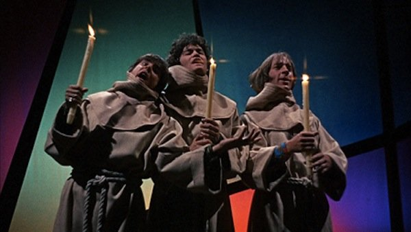 "The Monkees in the movie ""Head."""