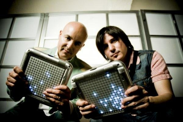 "Tijuana's Nortec Collecitve members Bostich and Fussible, who released a new album this year called ""Bulevar 2000."""