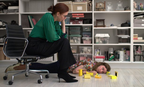 "Life's a little rough for Aura (Lena Dunham) in ""Tiny Furniture."""