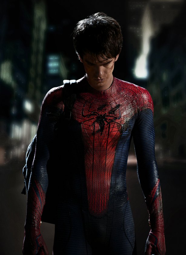 Columbia Pictures releases the first image of Andrew Garfield as Spider-Man