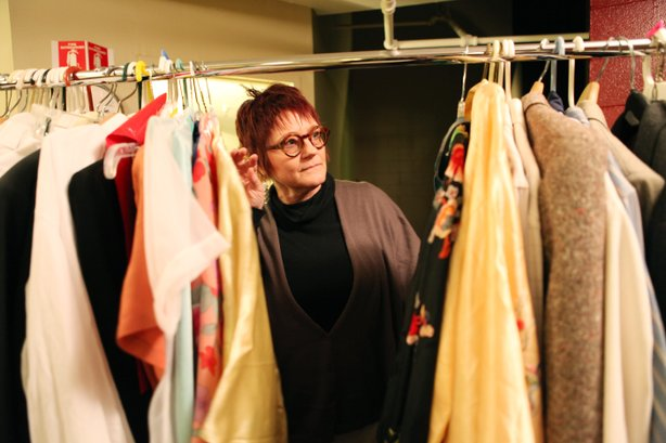 "Shirley Pierson is designing all of the costumes for Cygnet Theatre's production of ""Cabaret,"" the famed musical set in a seedy burlesque club in 1930s Berlin."