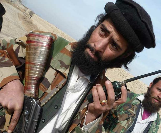Taliban leader Khalid Amin, who now commands around 50 insurgents in the northern Afghan province of Baghlan after a U.S. Special Forces operation killed his predecessor.