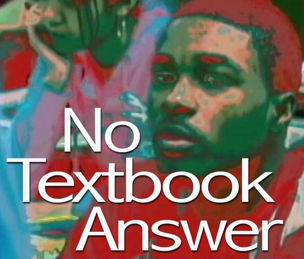 "Title graphic for the film ""No Textbook Answer: Communities Confront The Achievement Gap."""