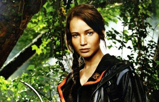 "Jennifer Lawrence is set to star in the film adaptation of ""The Hunger Games"" due out next year."