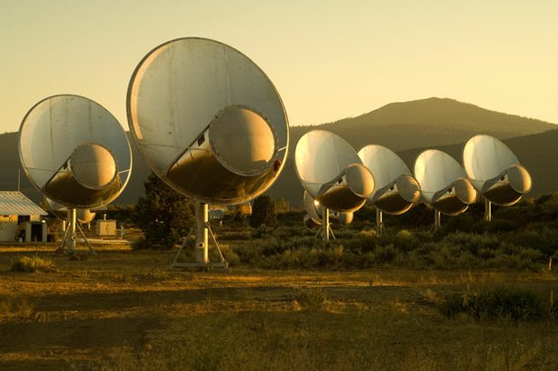 SETI - the search for extraterrestrial intelligence - has just expanded to begin the systematic survey of millions of star systems for signs of advanced civilizations. &quot;NOVA scienceNOW&quot; reports on this impressive new effort, called the Allen Telescope Array (pictured). 