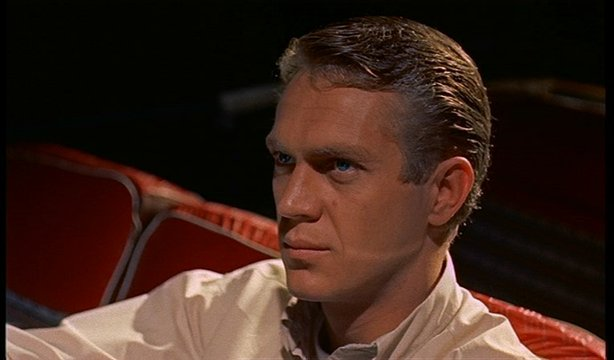 "Steve McQueen is the young hero of ""The Blob."" (1958)"