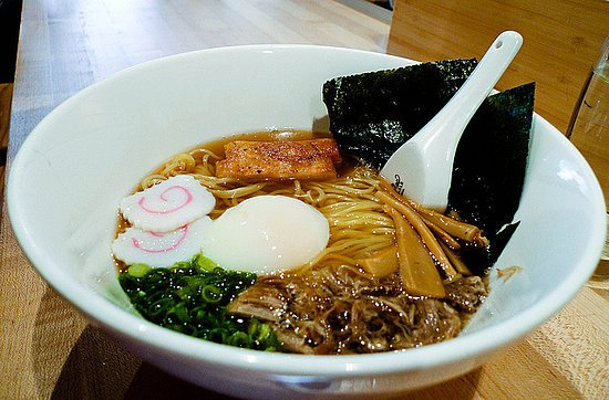 "The first issue of Chang's new magazine ""Lucky Peach"" is devoted to ramen noodle dishes."