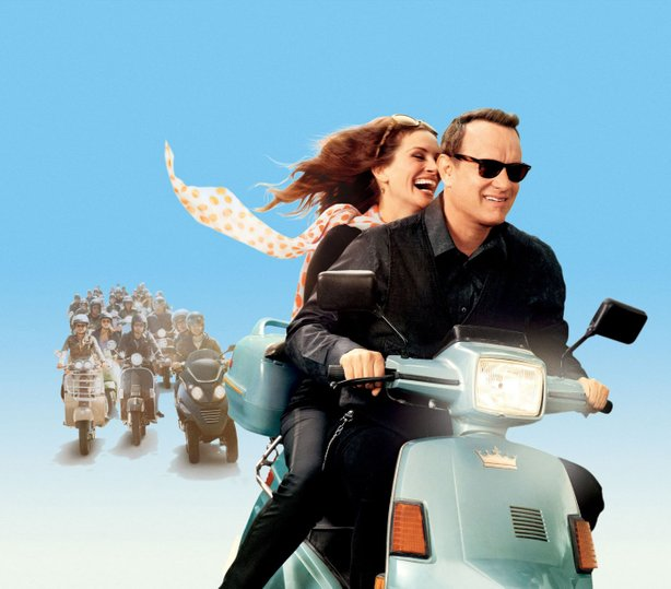 Julia Roberts and Tom Hanks in &quot;Larry Crowne.&quot;