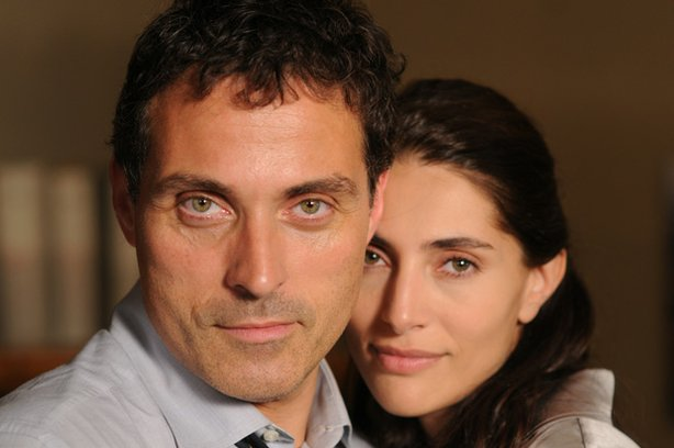"Rufus Sewell stars as detective Aurelio Zen and Caterina Maurino stars as Tania Moretti in ""Masterpiece Mystery! Zen: Ratking."""