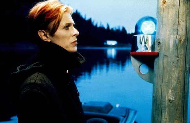 "David Bowie is perfectly cast as a displaced alien in ""The Man Who Fell to Earth."""