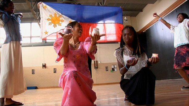 "Women from the Philippines teach in Baltimore schools, as featured in ""The Learning."""