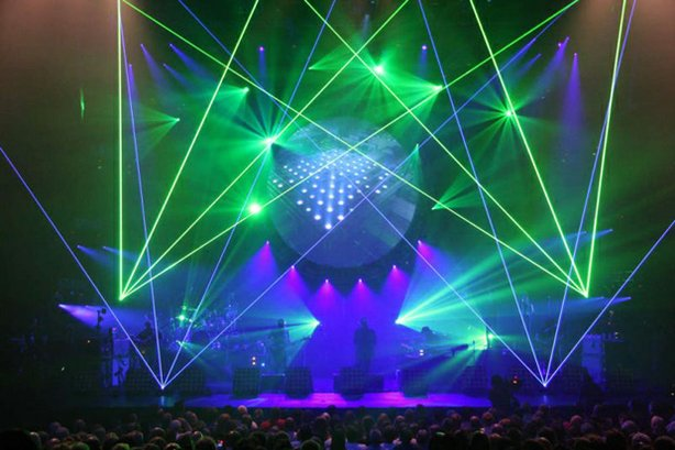 Photo from the Australian Pink Floyd concert at the Hammersmith Apollo in London on July 17, 2011.