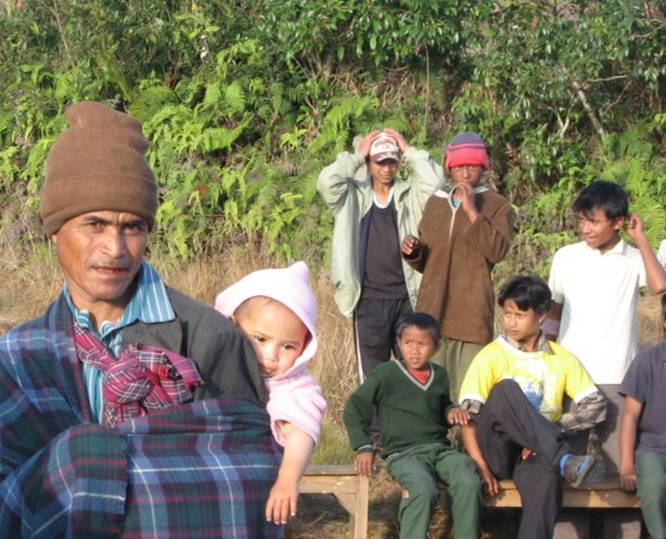 Khasi Villagers