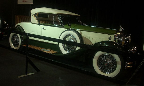 1930 Packard Deluxe Eight, photographed in Montreal, Quebec, Canada at the 2010 Montreal International Auto Show
