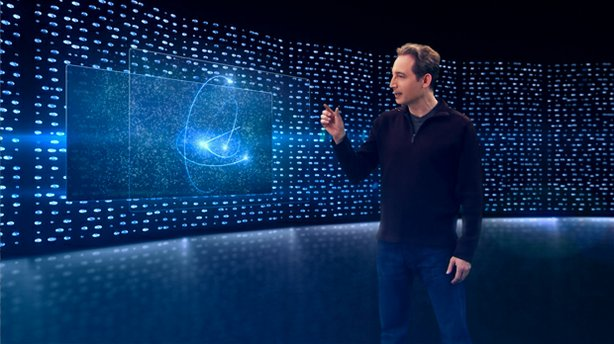 "Physicist and acclaimed author Brian Greene (pictured) returns to NOVA with ""The Fabric Of The Cosmos."" The four-part miniseries takes us to the frontiers of physics to see how scientists are piecing together the most complete picture yet of space, time and the universe, revealing that just beneath the surface of our everyday experience lies a world that is far stranger and more wondrous than anyone expected."