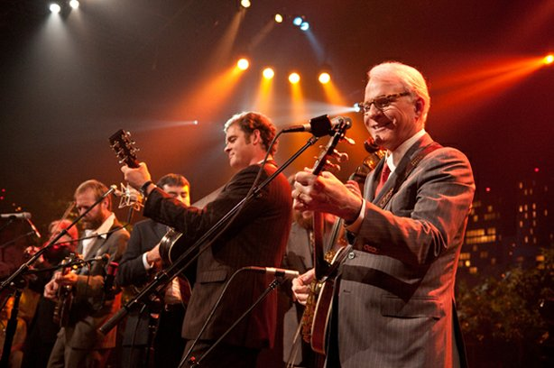 Comedian Steve Martin picks up his banjo and the Steep Canyon Rangers for new tunes in the old tradition. 