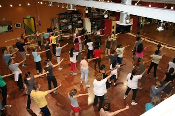 Eveoke Dance Theater&#39;s studio.