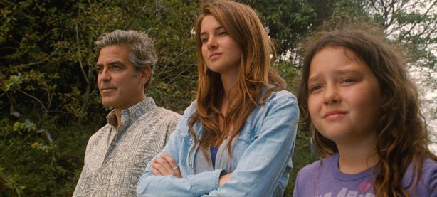 "George Clooney leads the cast of Alexander Payne's ""The Descendants."""